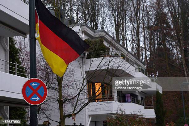 The residence of Andreas Lubitz the copilot on Germanwings flight 4U9525 is seen on March 26 2015 in Duesseldorf Germany French authorities confirmed...