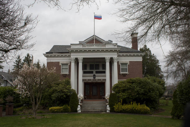 Russian Consulate As Trump Is Said To Expel 60 Russian