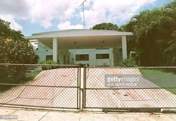 The residence of US finacier and international fugitive Robert Vesco remains closed by order of Cuban authorities 09 June in the Atabey neighborhood...
