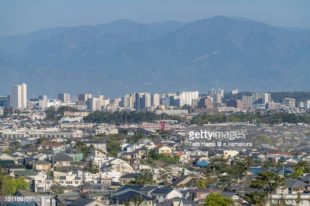 the residential district in kanagawa prefecture of japan - 平塚市 ストックフォトと画像