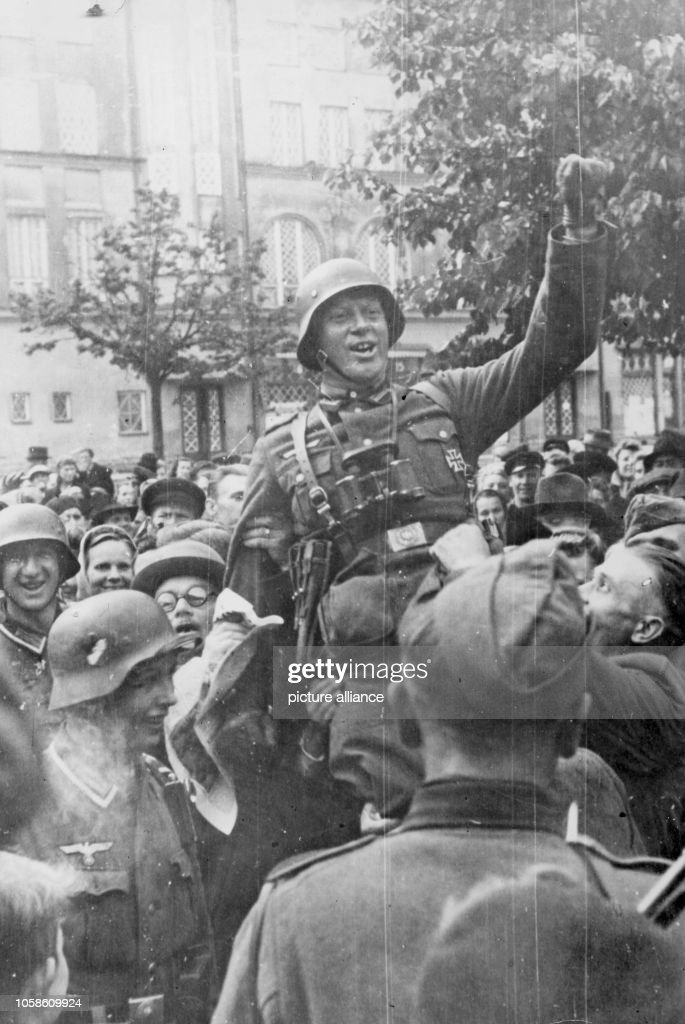 WWII - Advance towards the East 1941 : News Photo