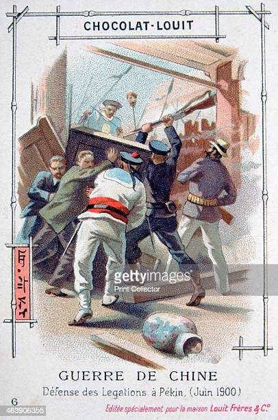 The resistance of the diplomatic staff in Peking China Boxer Rebellion June 1900 The Boxer Uprising or Boxer Rebellion was a Chinese rebellion from...