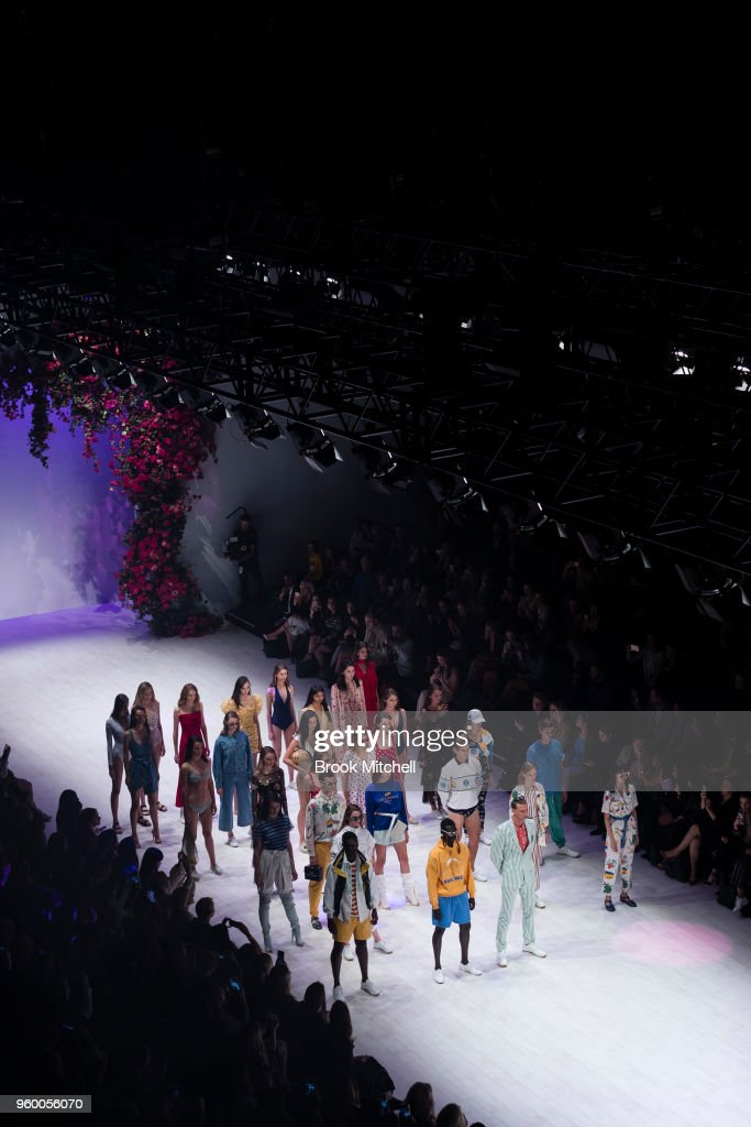 The Resort Review show at Mercedes-Benz Fashion Week Australia - Weekend Edition at Carriageworks on May 19, 2018 in Sydney, Australia.