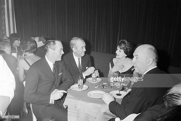 The Restaurant El Morocco Change Address In New York En janvier 1961 aux Etats Unis une soirée d'adieu au cabaret 'El Morocco' de la 54e rue New York...