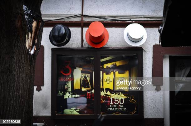 The restaurant named Tri Sesira means three hats in English gives service for 150year in Belgrade Serbia on March 04 2018 The city has a different...