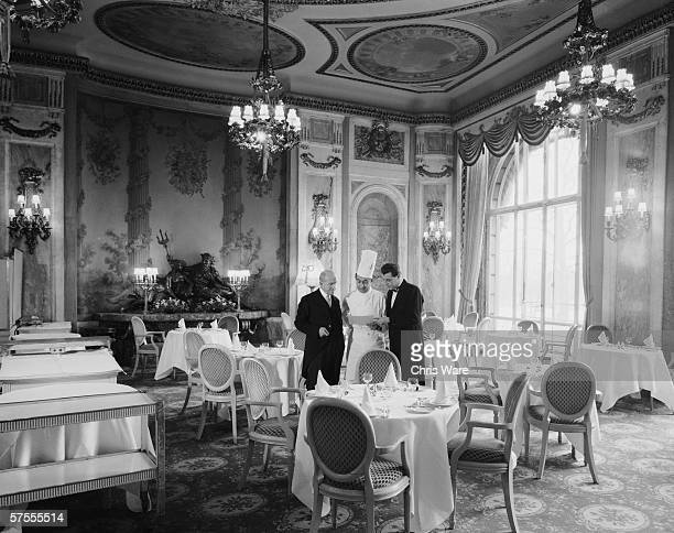 The restaurant of the Ritz Hotel in London 29th May 1963