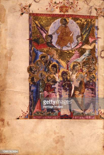 The Resurrection 1287 Found in the Collection of Mesrop Mashtots Institute of Ancient Manuscripts Yerevan