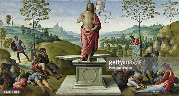 The Resurrection 14961500 Found in the collection of Musée des BeauxArts Rouen Artist Perugino
