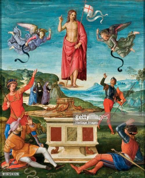 The Resurrection c 1500 Found in the Collection of Museu de Arte de São Paulo