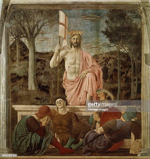 The Resurrection ca 1460 Found in the collection of Museo Civico Sansepolcro Artist Piero della Francesca