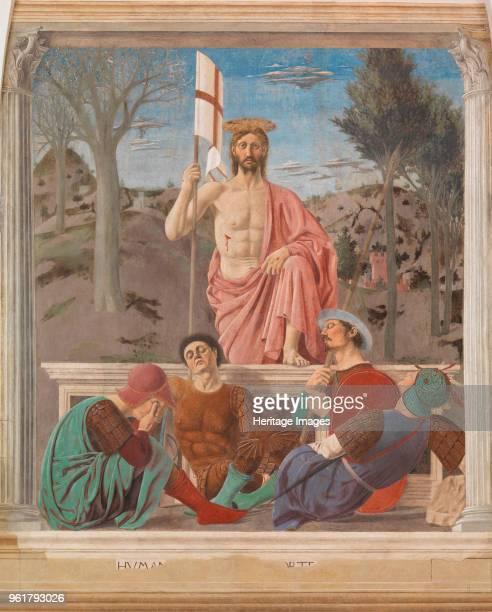 The Resurrection circa 1460 Found in the Collection of Museo Civico Sansepolcro