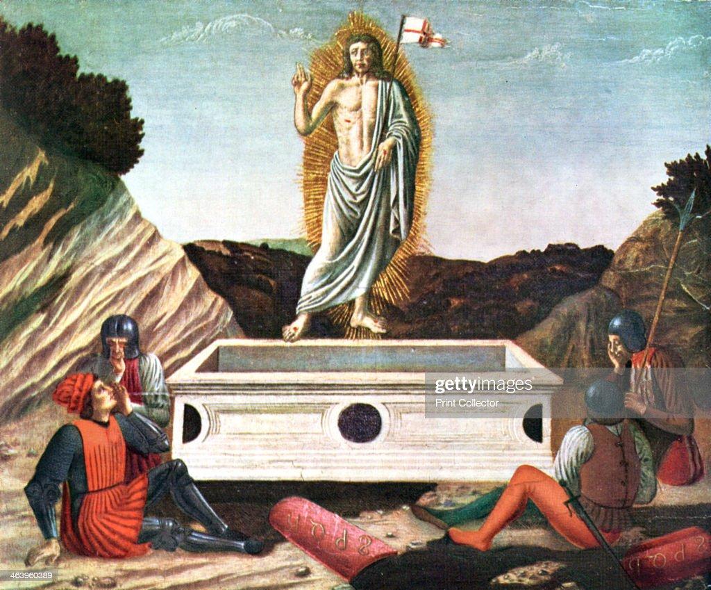 'The Resurrection', mid 15th century, (1930).Artist: Andrea del Castagno : News Photo