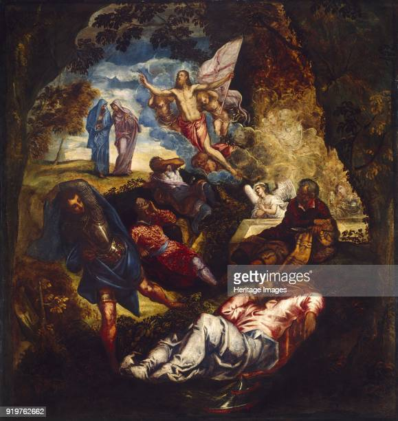 The Resurrection of Christ mid1550searly 1570s Artist Jacopo Tintoretto