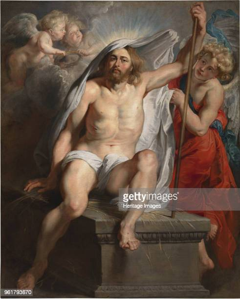 The Resurrection of Christ or The Triumph of Christ over Death circa 1616 Found in the Collection of Palazzo Pitti Florence