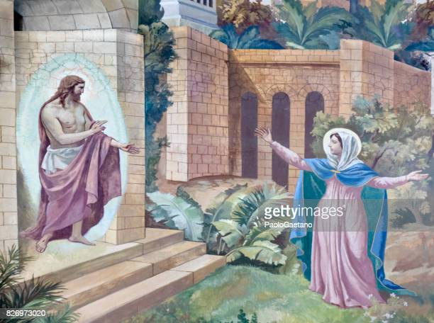 the resurrection - resurrection religion stock pictures, royalty-free photos & images