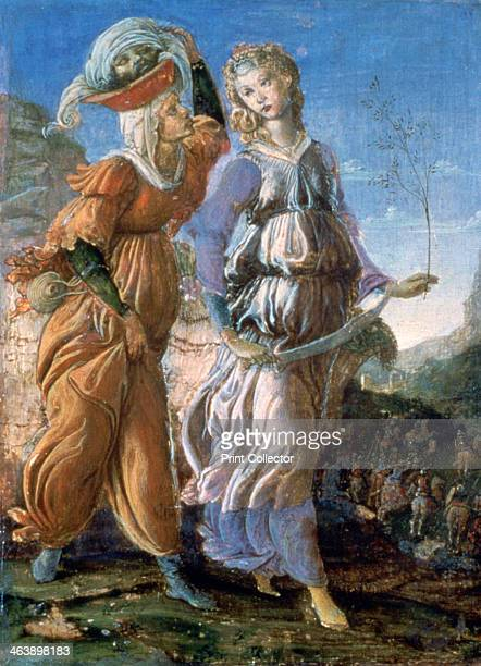 'The Return of Judith' 1467 From the collection of the Galleria degli Uffizi Florence Italy