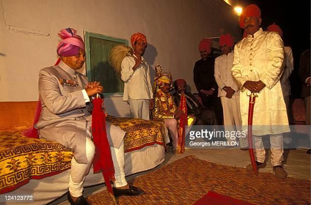 The return of Maharajas In India In February 1993 Maharadjah Sawaiman Singh at a wedding ceremony