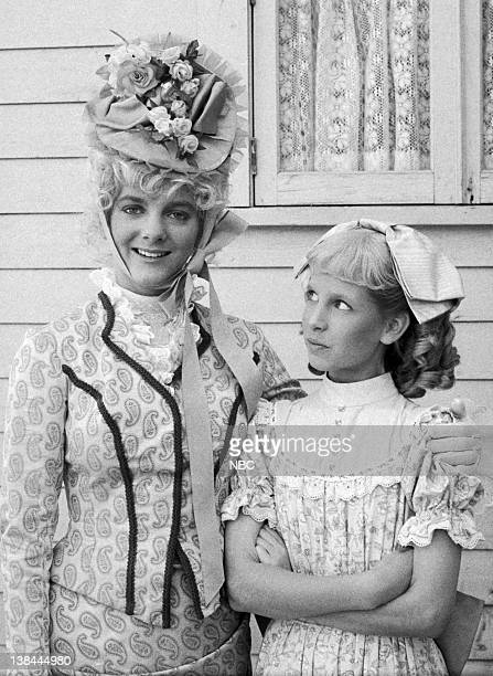 PRAIRIE 'The Return of Nellie' Episode 8 Aired 11/15/82 Pictured Alison Arngrim as Nellie Oleson Dalton Allison Balson as Nancy Oleson