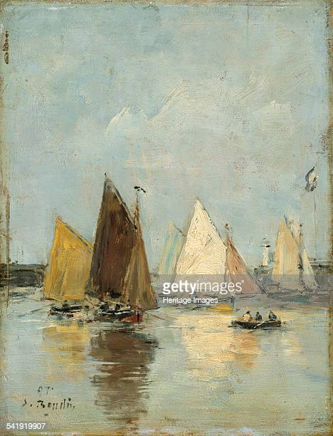 The return of the boats' 1897 Artist Eugene Louis Boudin