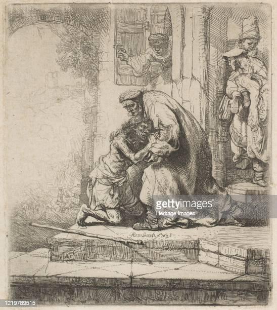 The Return of the Prodigal Son 1636 Artist Rembrandt Harmensz van Rijn