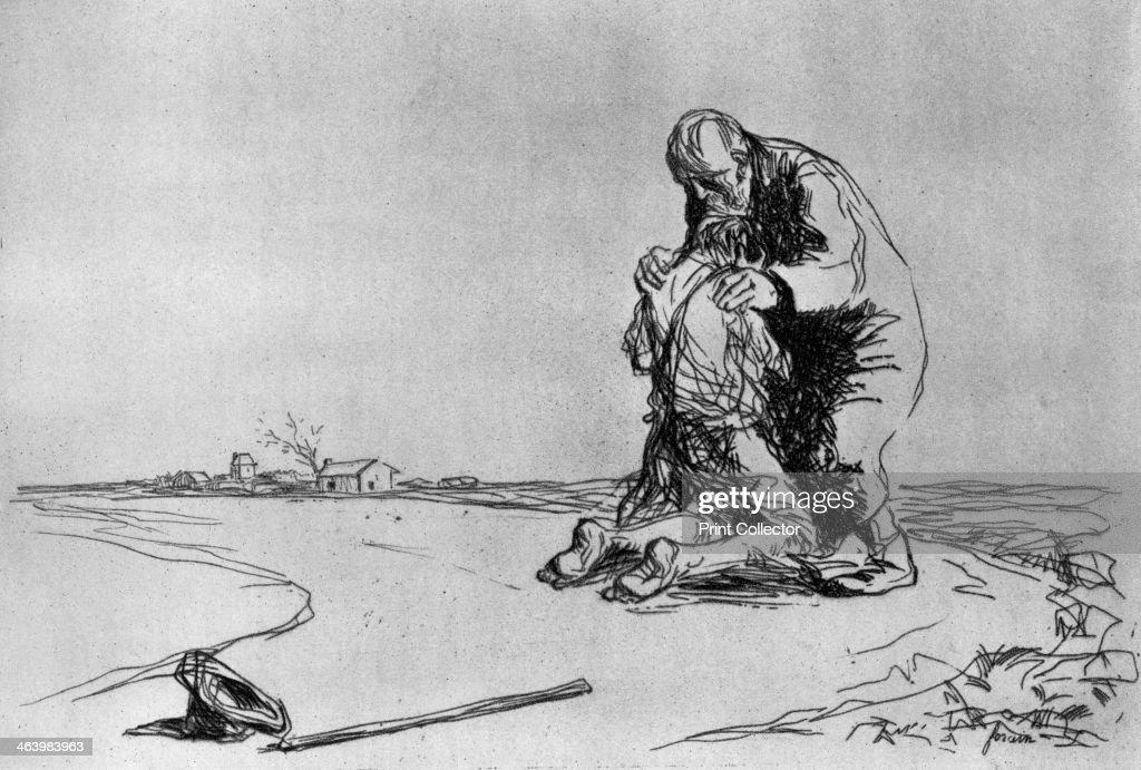 'The Return of the Prodigal Son', 1925.Artist: Jean Louis Forain : News Photo