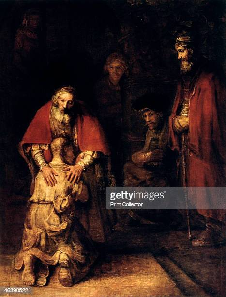 'The Return of the Prodigal Son' c1668