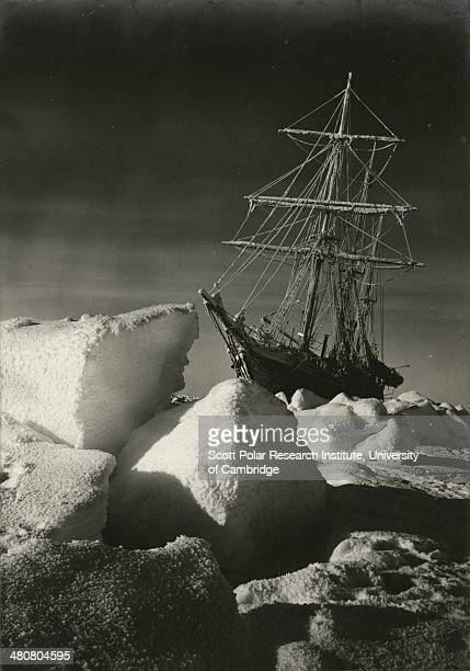 The return of the sun over the trapped 'Endurance' during the Imperial TransAntarctic Expedition 191417 led by Ernest Shackleton