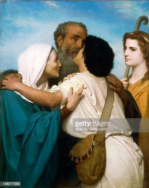 The Return of Tobias by WilliamAdolphe Bouguereau Dijon Musée Des BeauxArts