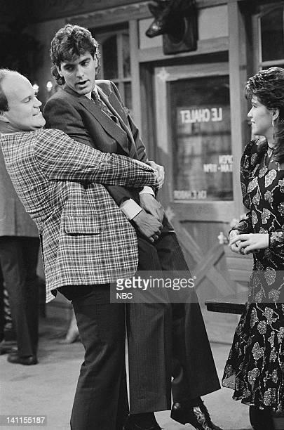 LIFE 'The Reunion' Episode 17 Aired Pictured Mike Pniewski as Warren 'Crusher' Pulaski George Clooney as George Burnett Nancy McKeon as Joanna 'Jo'...
