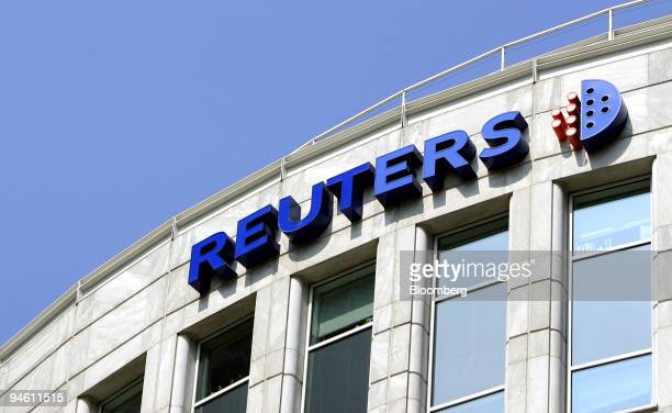 The Reuters Group Plc's headquarters at Canary Wharf, part of the financial district in London, U.K., Friday, May 4, 2007. Thomson Corp. Is in talks...
