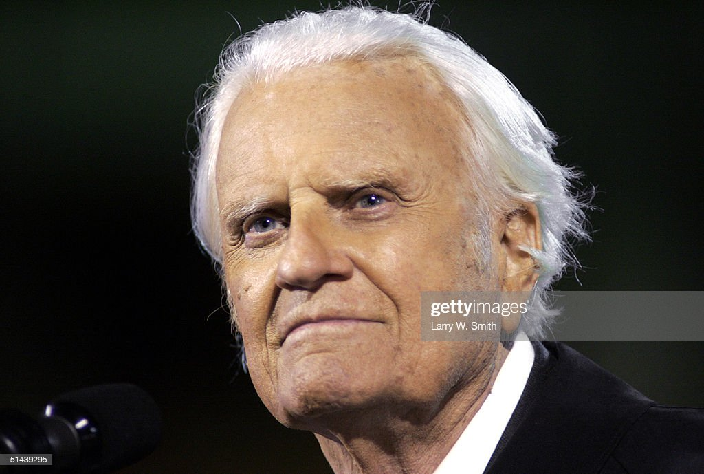 Billy Graham Speaks In Kansas City