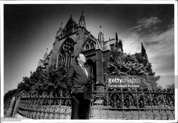 The Rev. F.J. Nile outside St. Marys Cathedral at the proposed scene of his prayer Vigil.After a hectic day of name-calling, countless media...