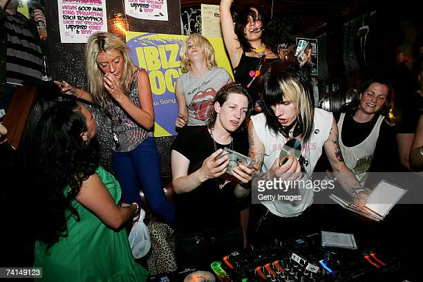 The Rev of Towers of London DJs at the Ibiza Rocks with Sony Ericsson launch party at The Lock Tavern Camden on May 14 2007 in London England The...