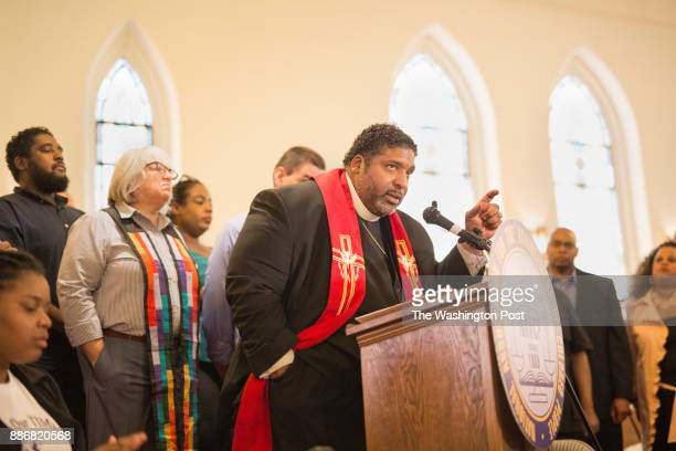 The Rev William J Barber II architect of the Moral Monday's movement announces the details of his next challenge helping to lead a national Poor...