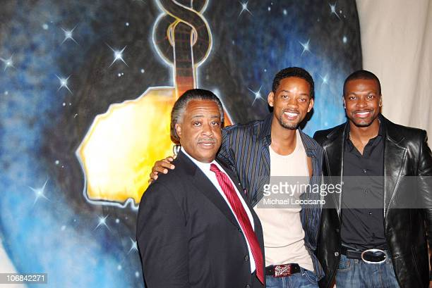 The Reverend Al Sharpton Will Smith and Chris Tucker