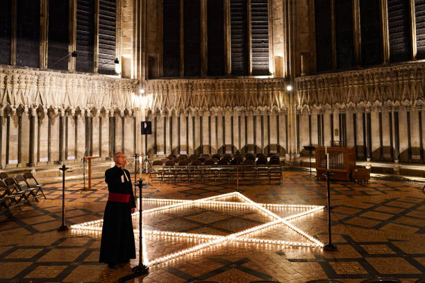 GBR: York Minster Commemorates International Holocaust Day With 600 Candles