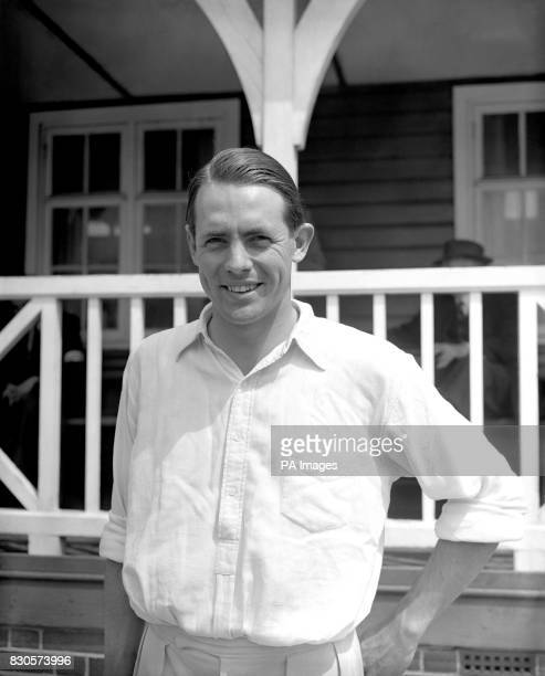 The Reverend David Sheppard surprise choice for the England team in the Fourth Test pictured at Hastings when he played for Sussex against Kent The...