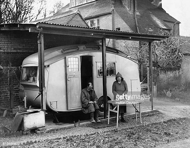 The Reverend FL Uppleby and his wife have moved out of the vicarage in the village of Upnor and into a caravan because of problems heating such a...