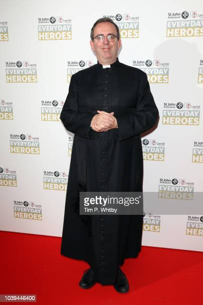 The Reverend Richard Coles attends the St John Ambulance Everyday Heroes Awards, supported by Laerdal Medical, which celebrate those that save lives...