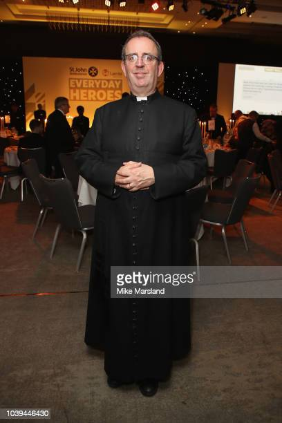 The Reverend Richard Coles attends the St John Ambulance Everyday Heroes Awards supported by Laerdal Medical which celebrate those that save lives...