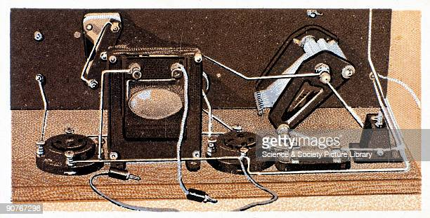 The reverse of the card reads �Grid Bias Leads Two lengths of coloured insulated wire one 6 inches long and one 9 inches long are fixed to black and...