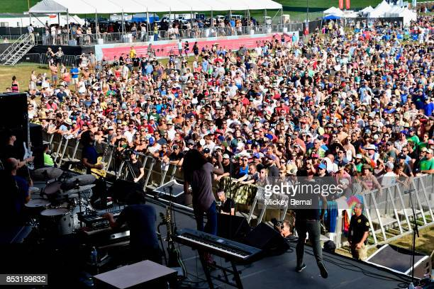 The Revivalists perform during Pilgrimage Music Cultural Festival on September 24 2017 in Franklin Tennessee