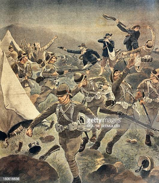 The revolt led by Christiaan de Wet illustration Second Boer War South Africa 19th20th century
