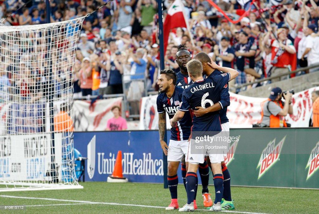 SOCCER: JUL 05 MLS - NY Red Bull at NE Revolution : News Photo