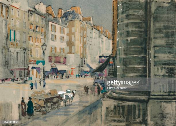 The Revolutions own street of Saint-Antoine, c1927, . From A Book About Paris by George and Pearl Adam. [Jonathan Cape, London, 1927]. Artist Henry...