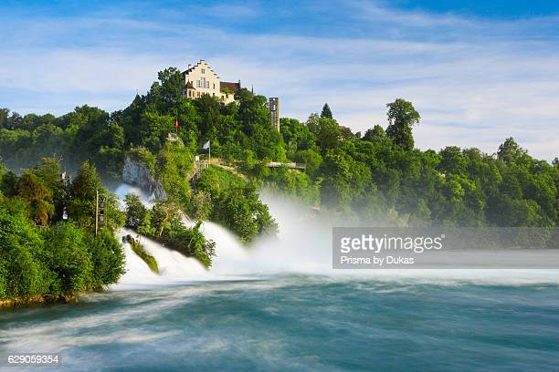 The Rhine Falls with the Laufen castle Switzerland