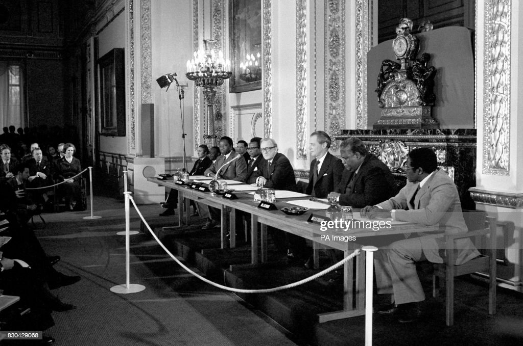 Nkomo Mugabe London Pictures Getty Images