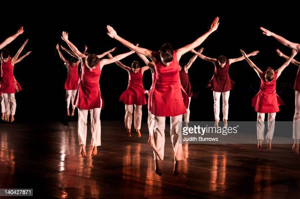 The Richard Alston Dance Company perform 'A Ceremony of Carols' based on a 1942 score by Benjamin Britten and performed by the Canterbury Cathedral...
