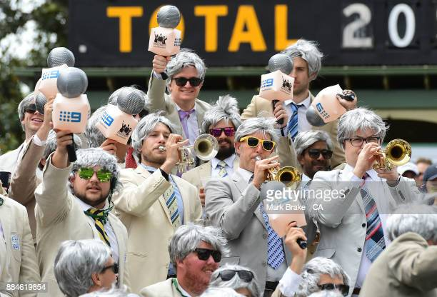 The Richies during day two of the Second Test match during the 2017/18 Ashes Series between Australia and England at Adelaide Oval on December 3 2017...