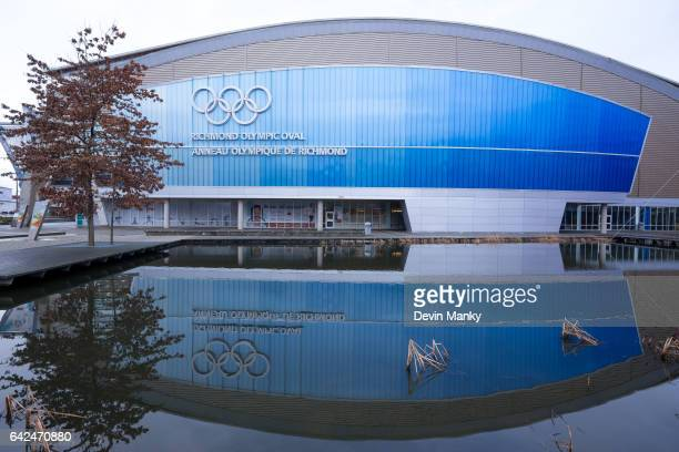 The Richmond Olympic Oval hosts the Peter Bakonyi Senior Men's Epee World Cup on February 17th 2017 in Richmond British Columbia Canada